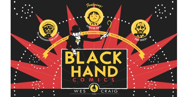 BLACKHAND COMICS Brings the Weird in October