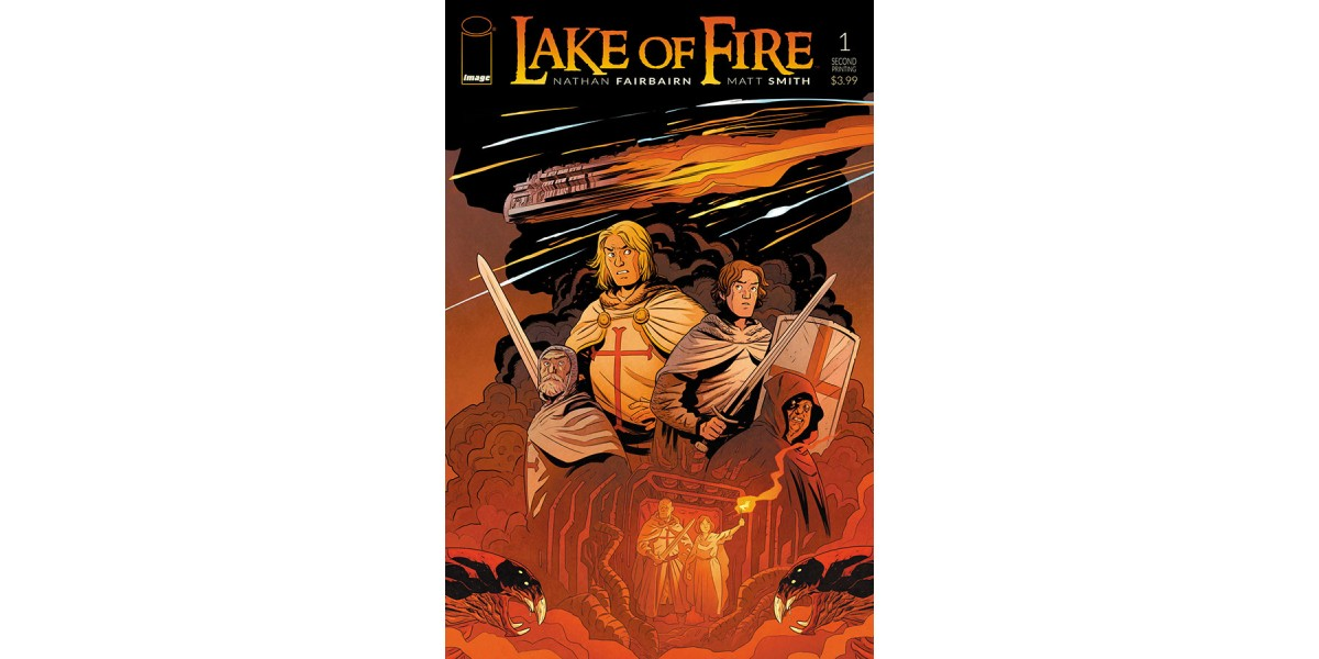 LAKE OF FIRE fans burn through inventory | Image Comics
