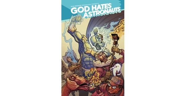 Magic bears and cops with robot arms abound in GOD HATES ASTRONAUTS, need we say more?