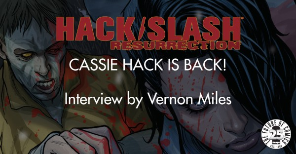 HACK/SLASH: Cassie Hack Is Back! [Interview]