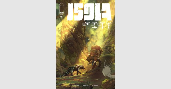 Gorgeous new ISOLA #1 variant cover revealed