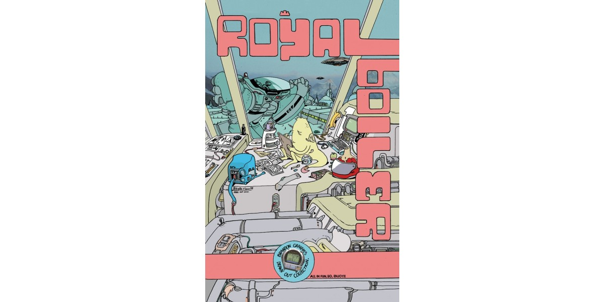 Royalboiler Brandon Graham S Drawn Out Collection Arrives This