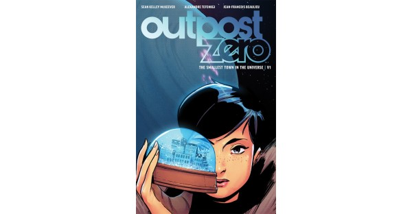 Explore the mysteries of the frost in OUTPOST ZERO, VOL. 1
