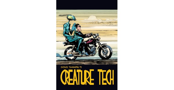 New full-color edition of CREATURE TECH arrives this January