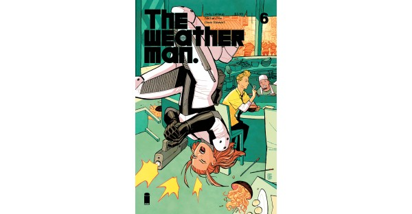 THE WEATHERMAN unveils Jerome Opeña and Cliff Chiang covers for story arc finale