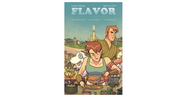 Delectable culinary fantasy FLAVOR served up in trade paperback