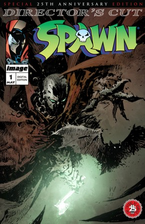 Spawn #1 25th Anniversary Director's Cut