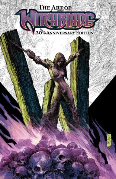 """Witchblade 20th Anniversary """"Art Of"""" Hardcover"""