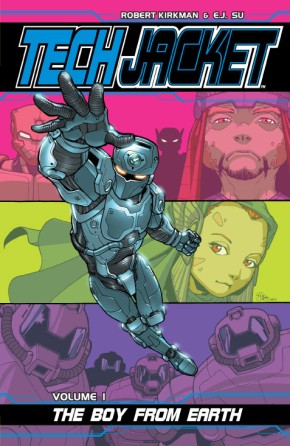 Tech Jacket, Vol. 1: The Boy From Earth TP