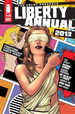 CBLDF Liberty Annual 2013