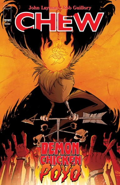 Chew: Demon Chicken Poyo #1
