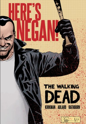 The Walking Dead: Here's Negan! Hc