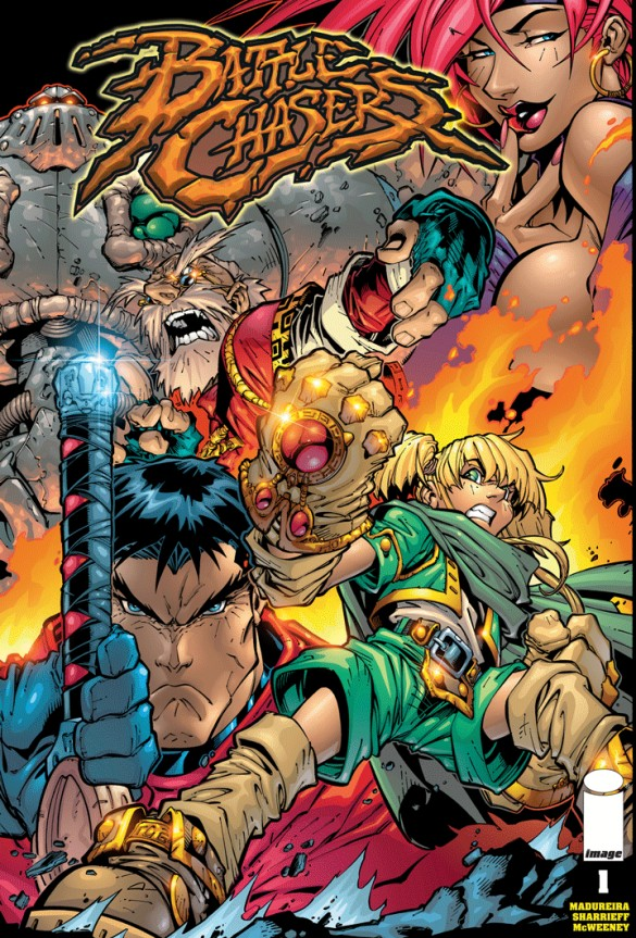 IMAGE COMICS BATTLE CHASERS #4 OLD MAN COVER