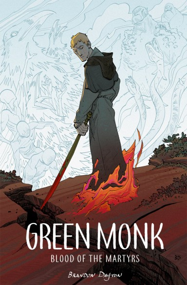 Green Monk: Blood of the Martyrs OGN TP