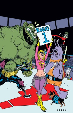 It Girl & The Atomics, Round One: Dark Streets, Snap City TP