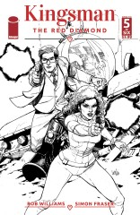 Kingsman: The Red Diamond #5 (of 6)