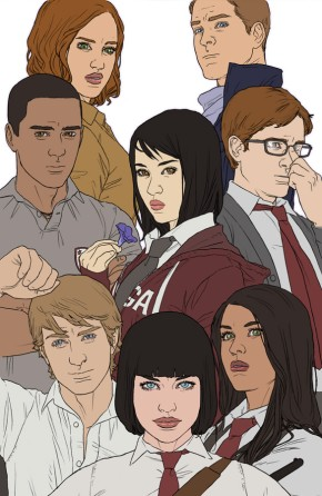 Morning Glories, Vol. 2 Deluxe Edition HC