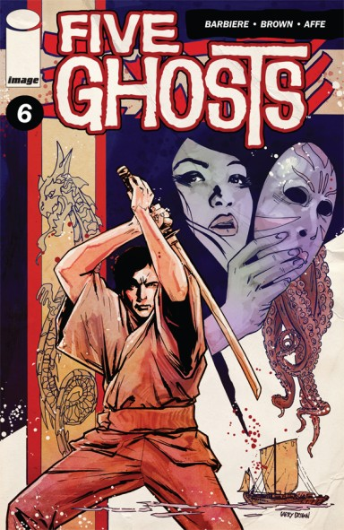 Five Ghosts #6