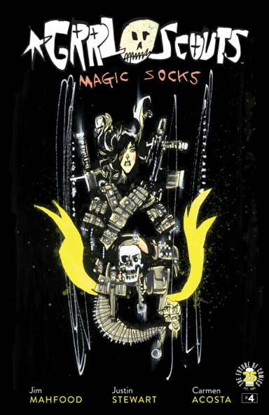 Grrl Scouts: Magic Socks #4 (Of 6)