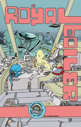 Royalboiler: Brandon Graham's Drawn Out Collection TP