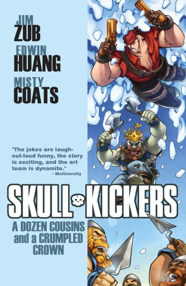 Skullkickers, Vol. 5: A Dozen Cousins And A Crumpled Crown TP