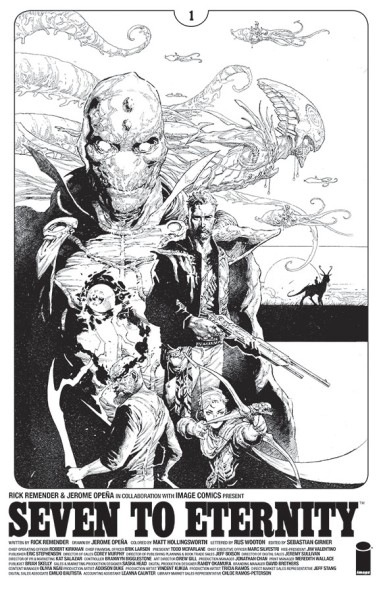 Seven to Eternity Giant-Sized Artists' Proof Edition