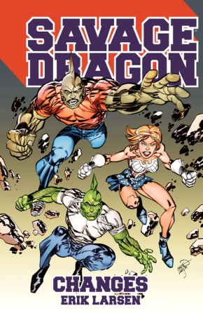 Savage Dragon: Changes TP