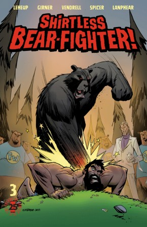 Shirtless Bear-Fighter! #3