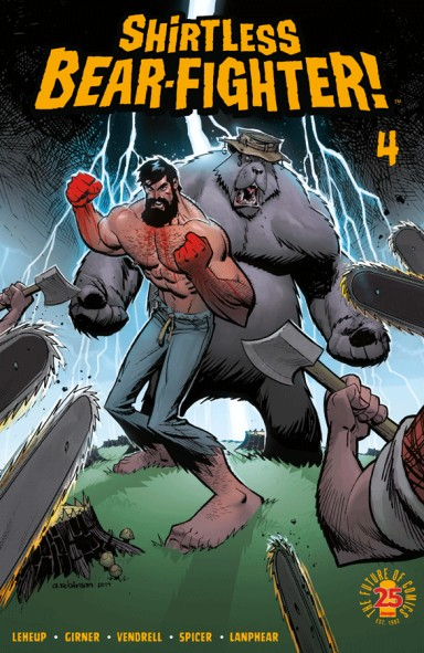 Shirtless Bear-Fighter! #4 (Of 5)