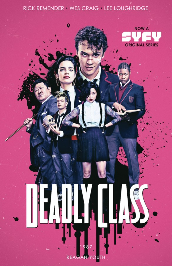 Deadly Class stands out from the herd with a literal killer twist to it.