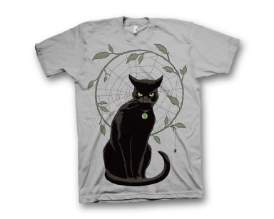 BLACK MAGICK HAWTHORNE THE CAT T-shirt - XXL