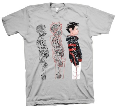 DESCENDER TIM-21 TRIPTYCH T-shirt SM-XL