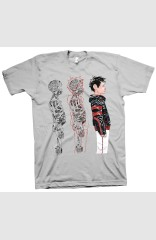 DESCENDER TIM-21 TRIPTYCH T-shirt - XXL
