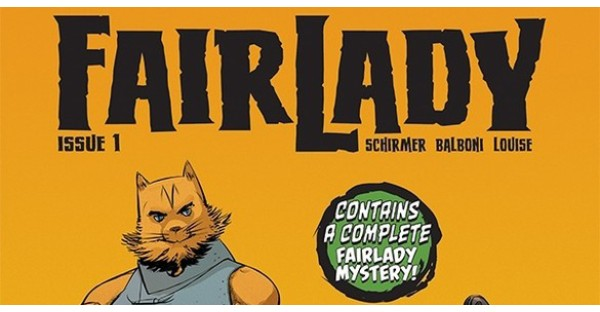 A new case-solving fantasy series for fans of Fables begins this April in FAIRLADY