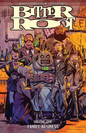 Bitter Root, Vol. 1: Family Business TP