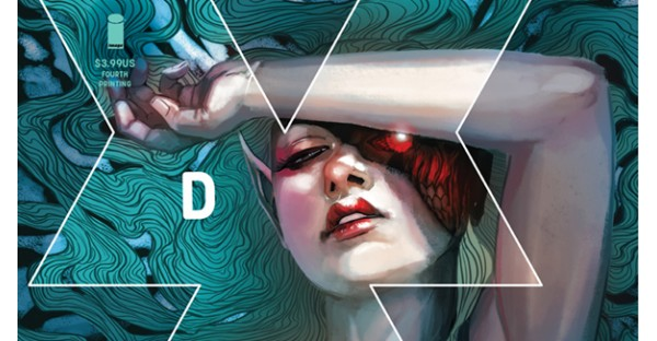 Multiple issues of Kieron Gillen & Stephanie Hans' DIE sent back to print