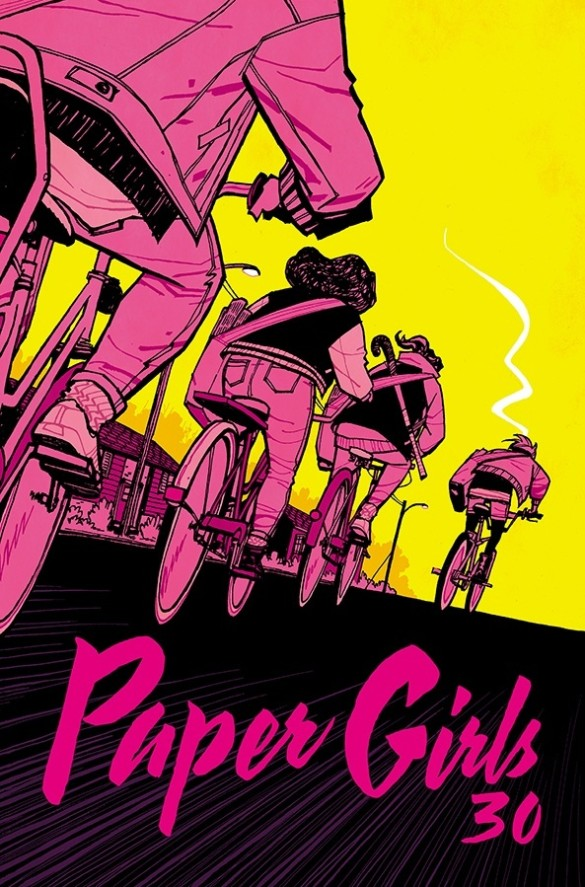 Image result for paper girls 30