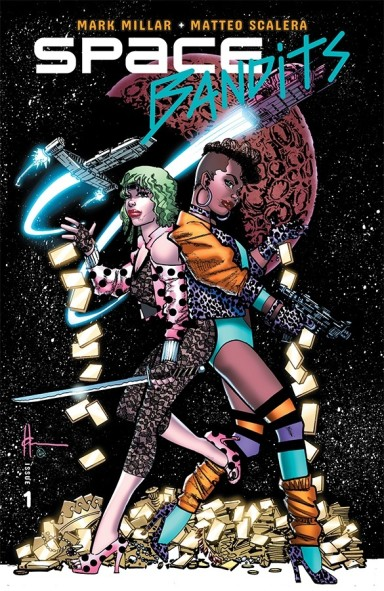 Space Bandits #1 (of 5) - Cover C Legends Variant