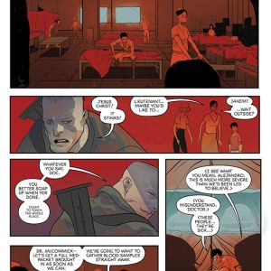 UNEARTH #1 preview page 3