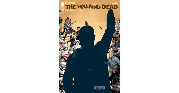 This week's game-changing WALKING DEAD #191 rushed back to print