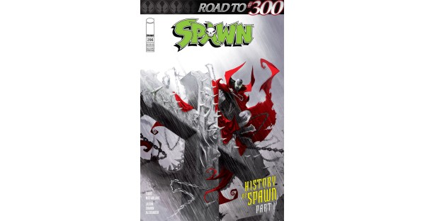 Momentum for SPAWN builds as historic issues 300 & 301 approach!