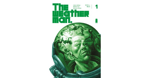 Limited Duncan Fegredo variant cover revealed for THE WEATHERMAN VOL. 2 #1