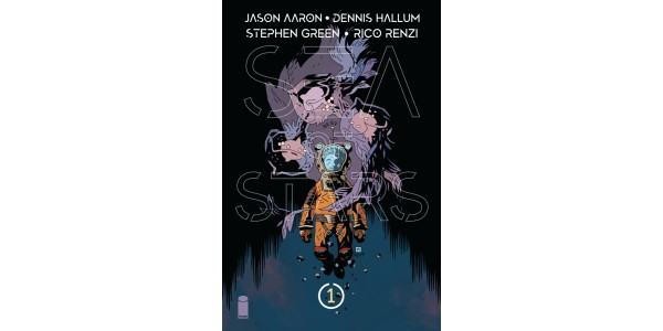 Mike Mignola cover revealed for Jason Aaron, Dennis Hallum, and Stephen Green's sci-fi epic, SEA OF STARS
