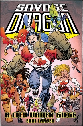 Savage Dragon: A City Under Siege TP