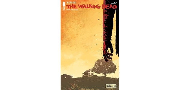 Today's conclusion to long-running comic book series THE WALKING DEAD offers readers one final jaw-dropping chapter