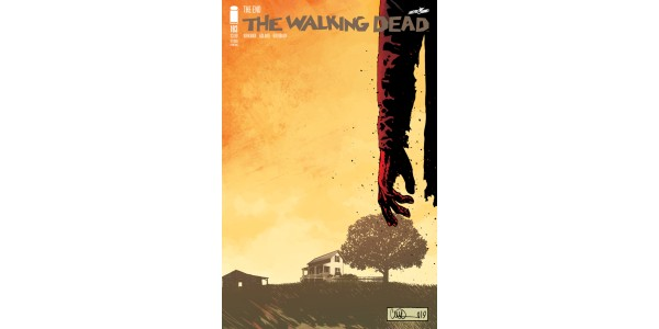 Today's shocked THE WALKING DEAD #193 issue immediately rushed back to print