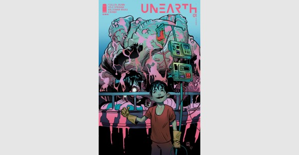 NEW HORROR SERIES UNEARTH INFECTS READERS WITH CHERNOBYL VIBES, RUSHED BACK TO PRINT
