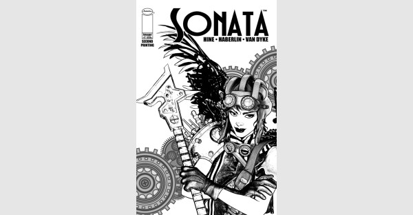 BRIAN HABERLIN & DAVID HINE'S SONATA #2  & SONATA #3 RUSHED BACK TO PRINT