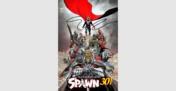 SPAWN #301 COVERS FOR OPEÑA, ROSS, SIENKIEWICZ, CAMPBELL REVEALED