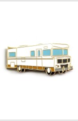 THE WALKING DEAD RV PIN - $10